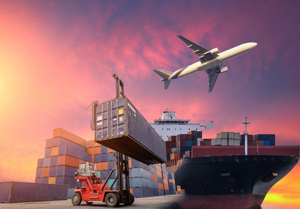 transporting cargo
