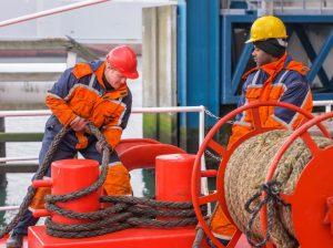 seamen working
