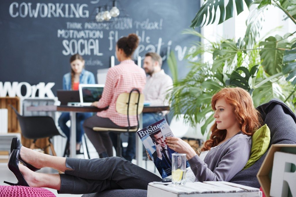 Coworking Space and Lounge