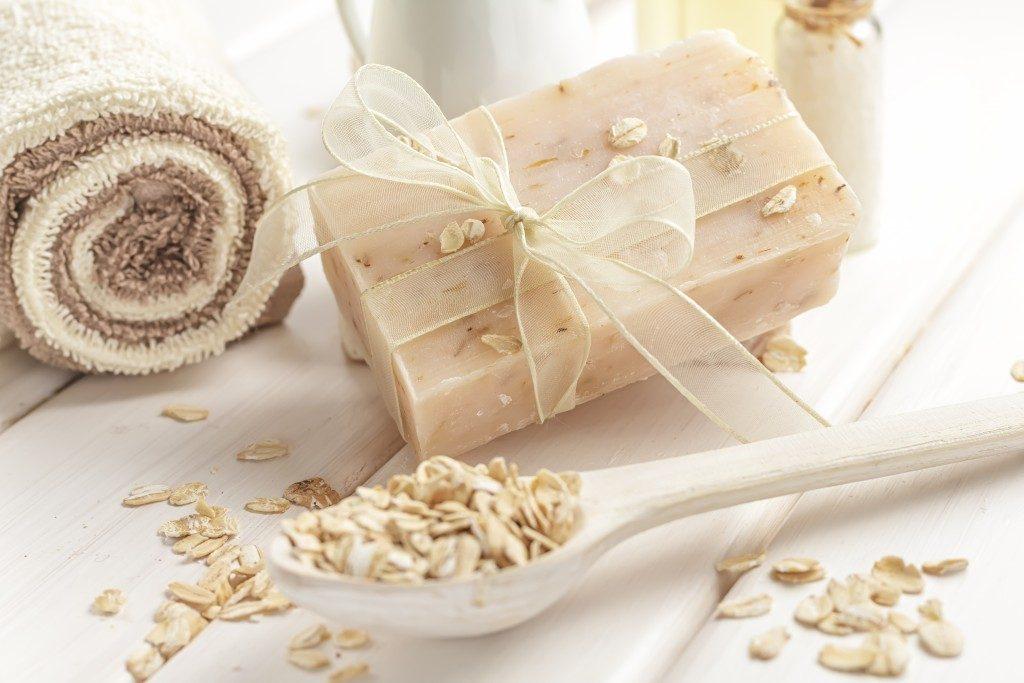 oatmeal spa ingredients