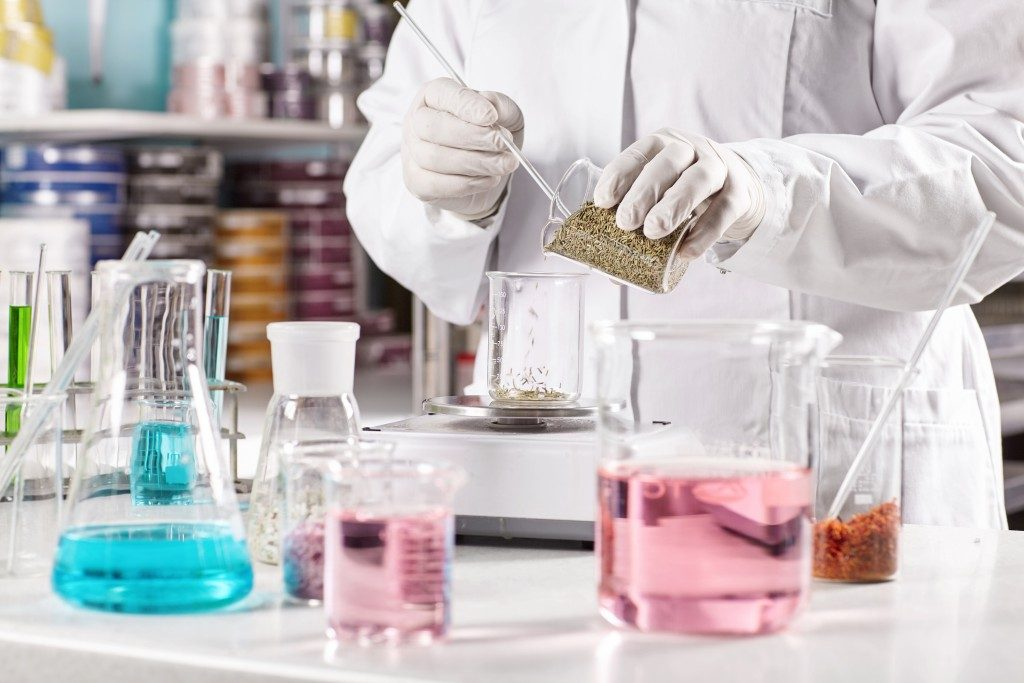 inside a chemistry lab