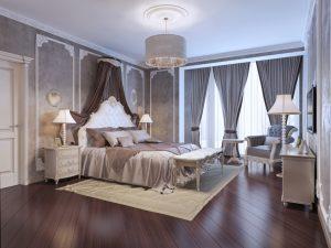 cleen classy victorian bedroom design