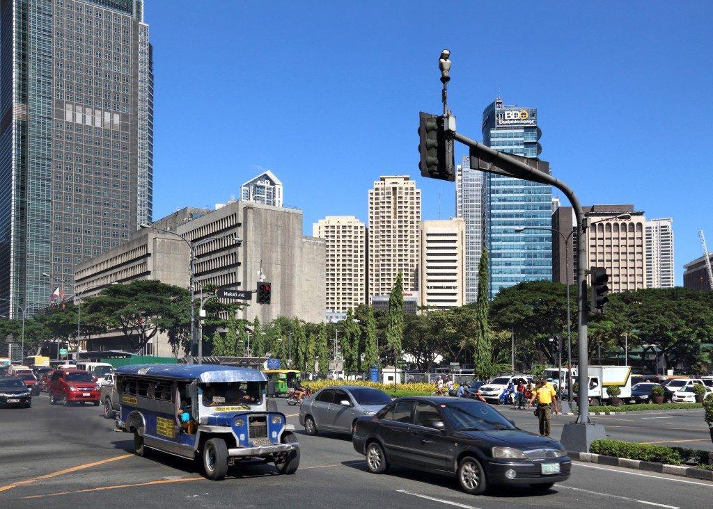 The streets of Metro Manila