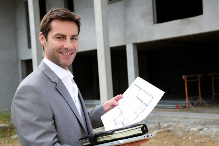 portrait of a real estate agent