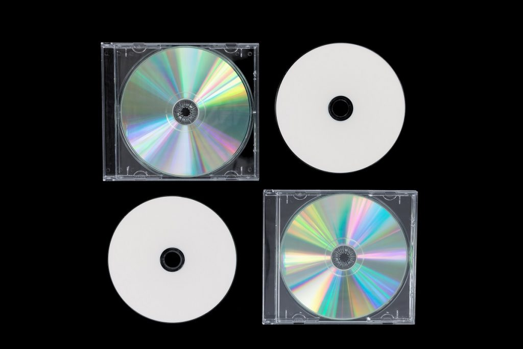 four compact disc