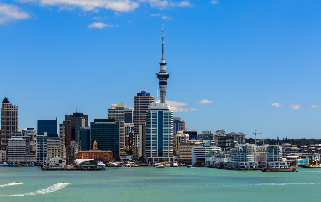 city view of auckland