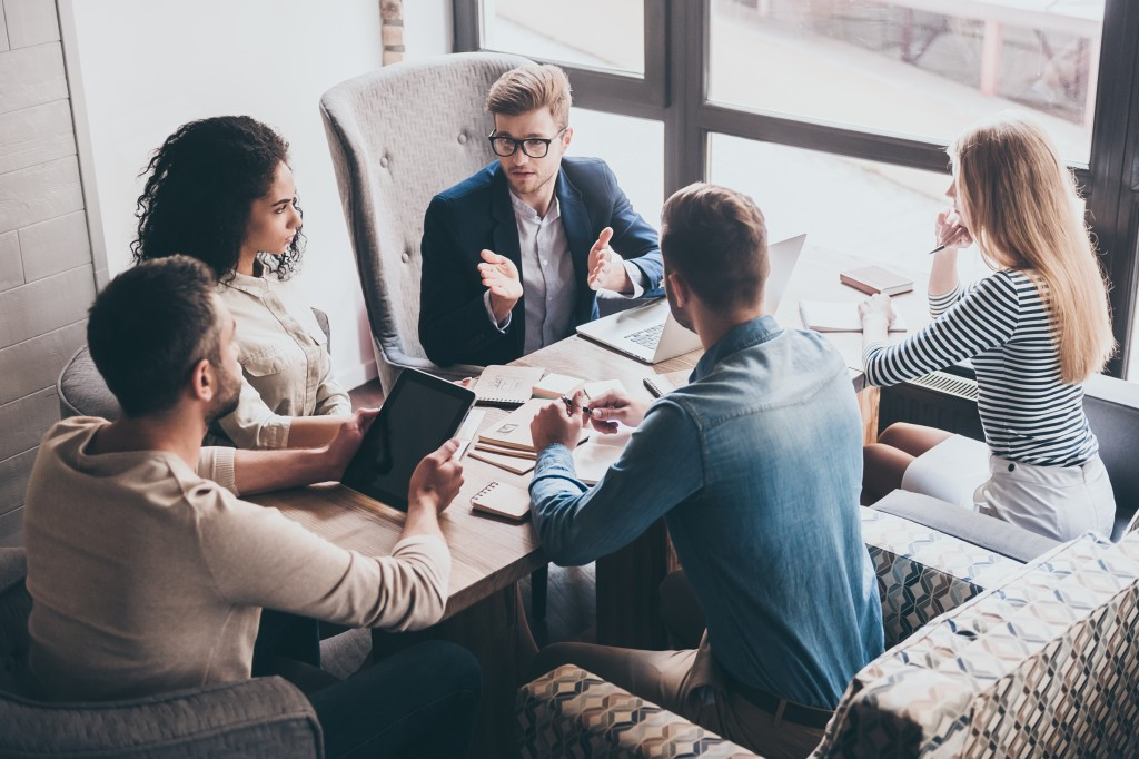 team meeting