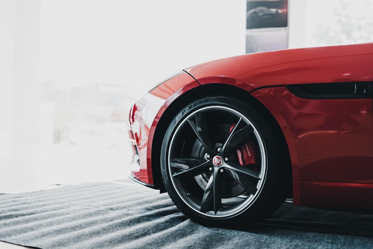 polished car