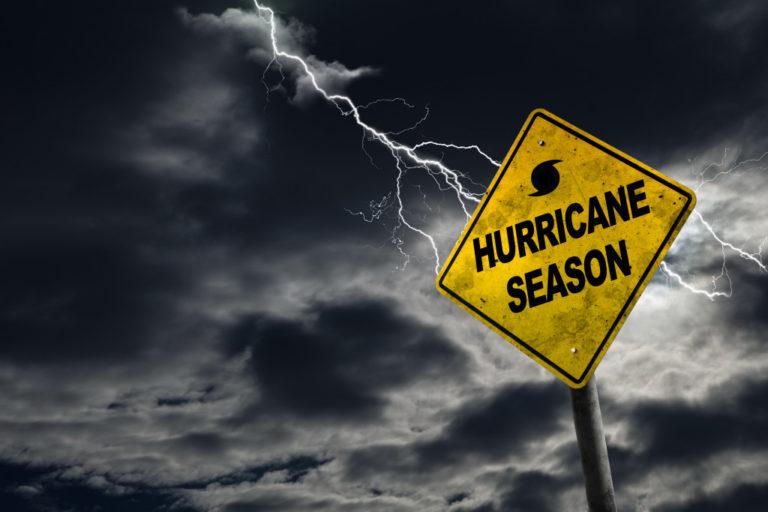 hurricane signage