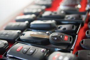 car keys concept